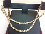 "16"" Gold Rope Chain 14K Yellow Gold 11.5g"